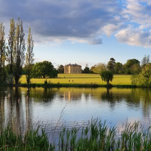 View of Danson House from across the lake