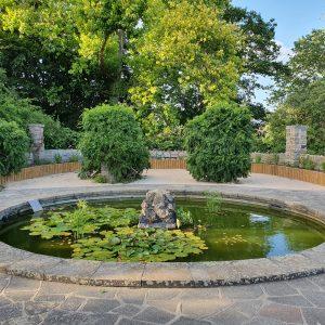 Danson Park Old English Garden fish pond