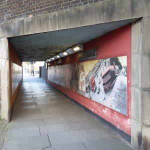 Welling Gateway mural