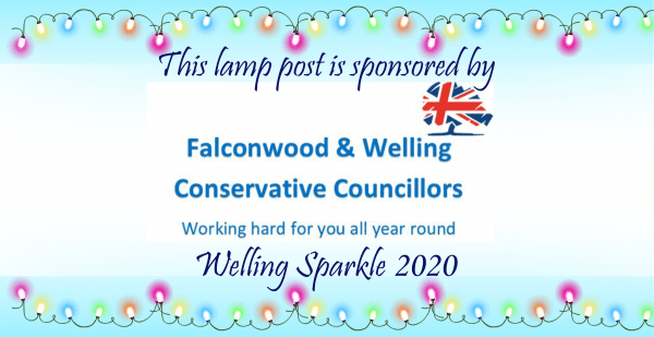Lamp post - Falconwood and Welling Councillors
