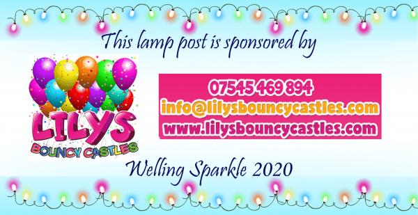 Lamp post - Lilys Bouncy Castles