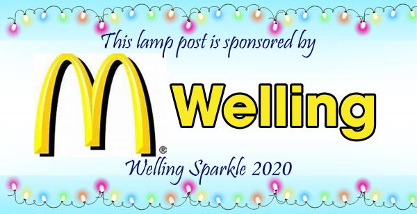 Lamp post - McDonalds