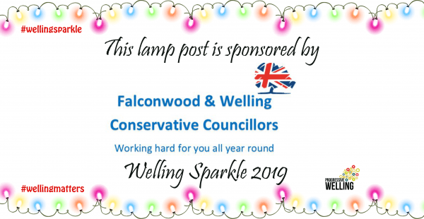 Lamppost Sponsor - Falconwood and Welling Councillors