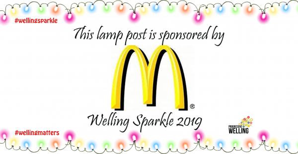 Lamppost Sponsor - McDonalds