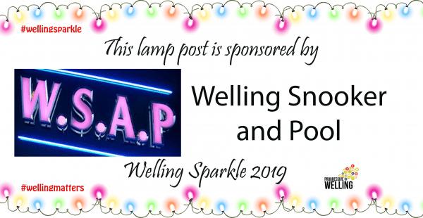 Lamppost Sponsor - WSAP