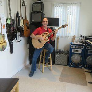 john in music room2