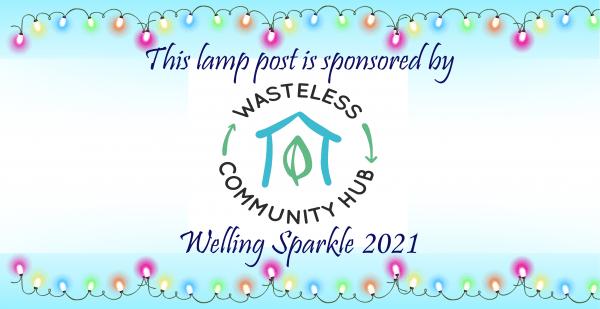 Lamp post - Wasteless Community Hub