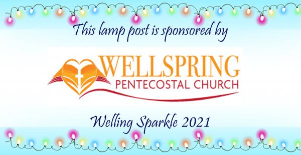 Lamp post - Wellspring