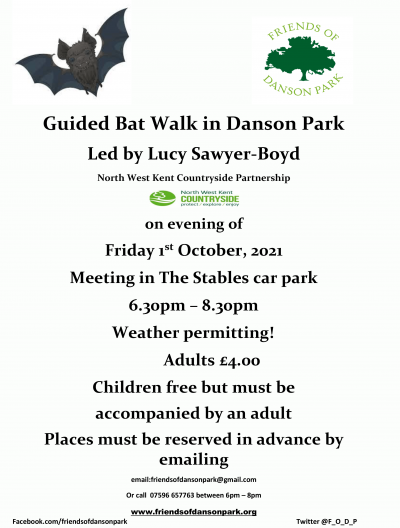 FODP Guided bat walk 1st October