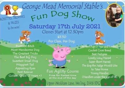 George Mead Fun Dog Show 17th July