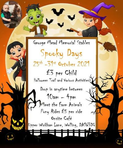 George Mead Spooky Days 25 - 31 October