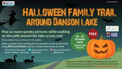 Halloween Family Trail Danson Lake 16 - 31 October