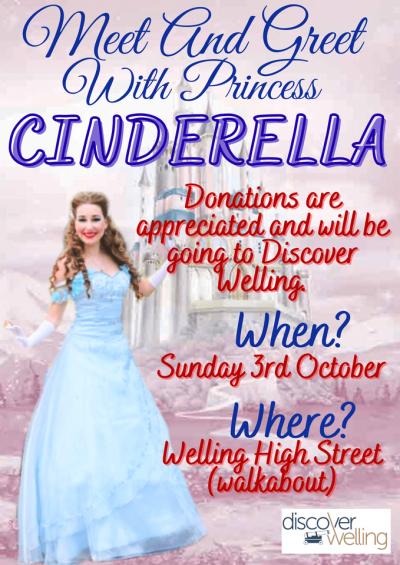 Meet and greet with Princess Cinderella