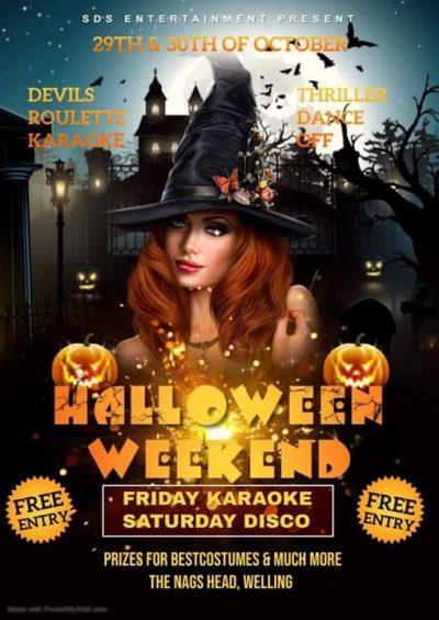 Nags Head Halloween Weekend 29th 30th October