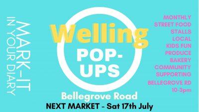 Welling pop ups July