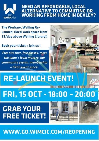 Workary relaunch 15th Oct